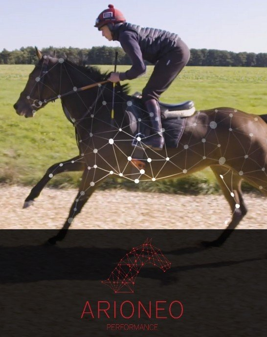 arioneo performance equimetre cheval course